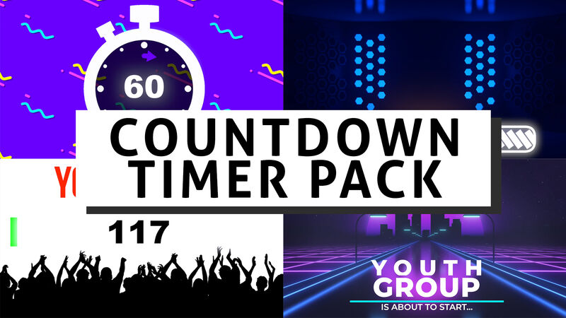 Countdown Timer Video Pack