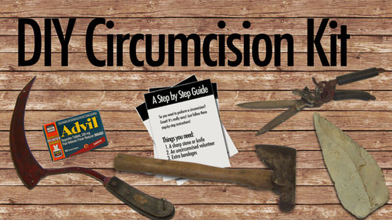 DIY Circumcision Kit