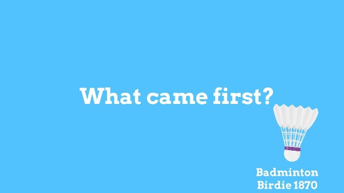 What Came First? image number null