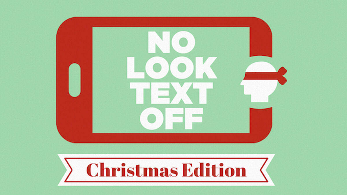 No Look Text Off - Christmas Edition image number null