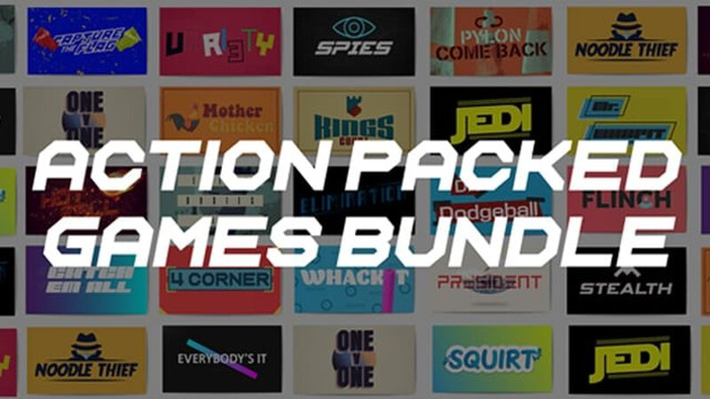 Action Packed Games Bundle