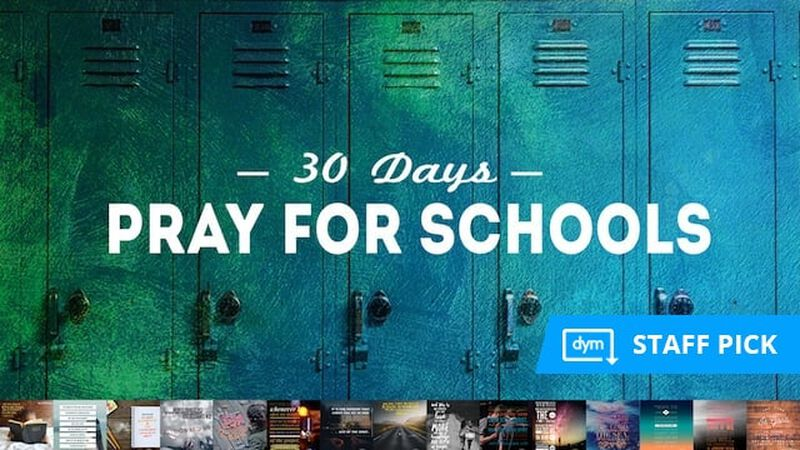 30 Days of Prayer for Schools