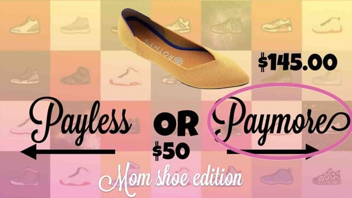 Payless or Paymore Mom Shoe Edition image number null