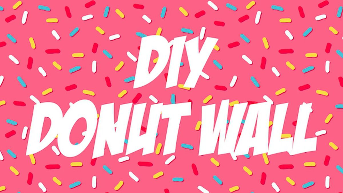 DIY Donut Wall image number null