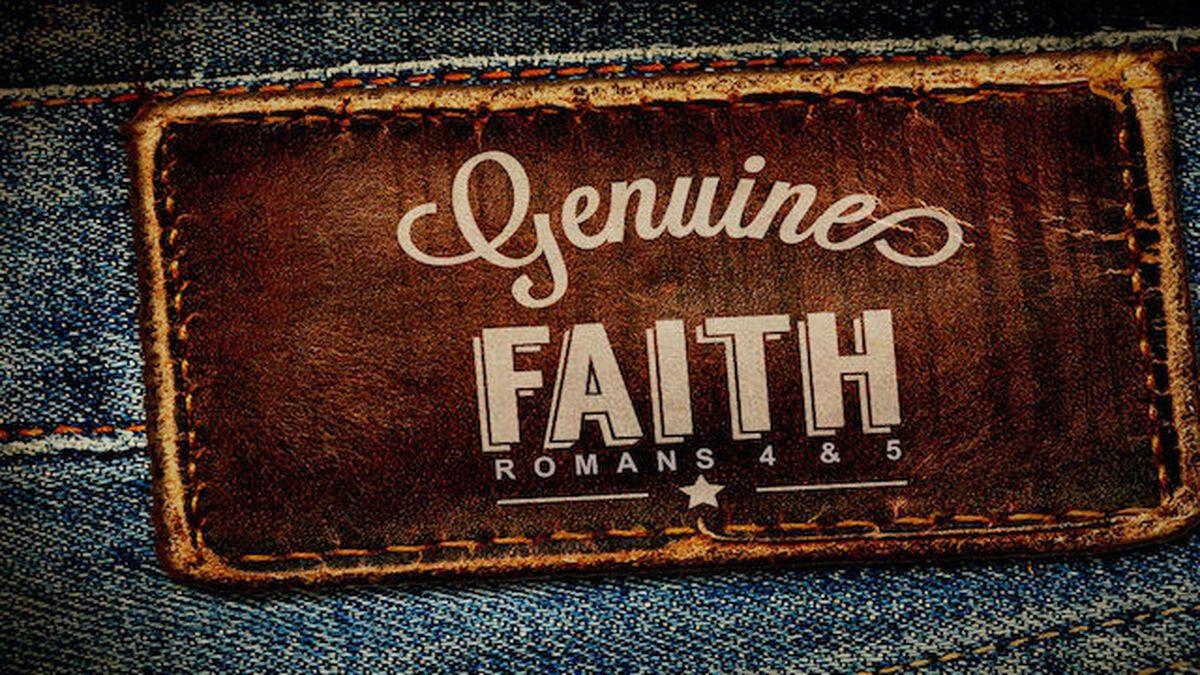 Genuine Faith image number null