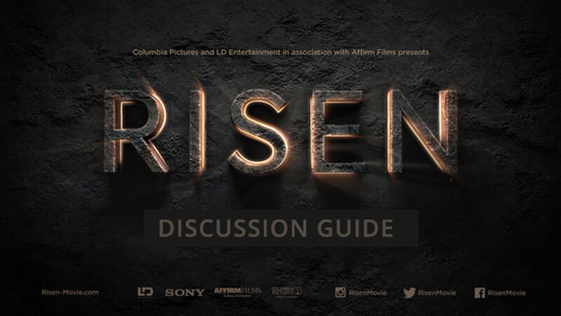 FREEBIE: Risen Official Movie Discussion Guide