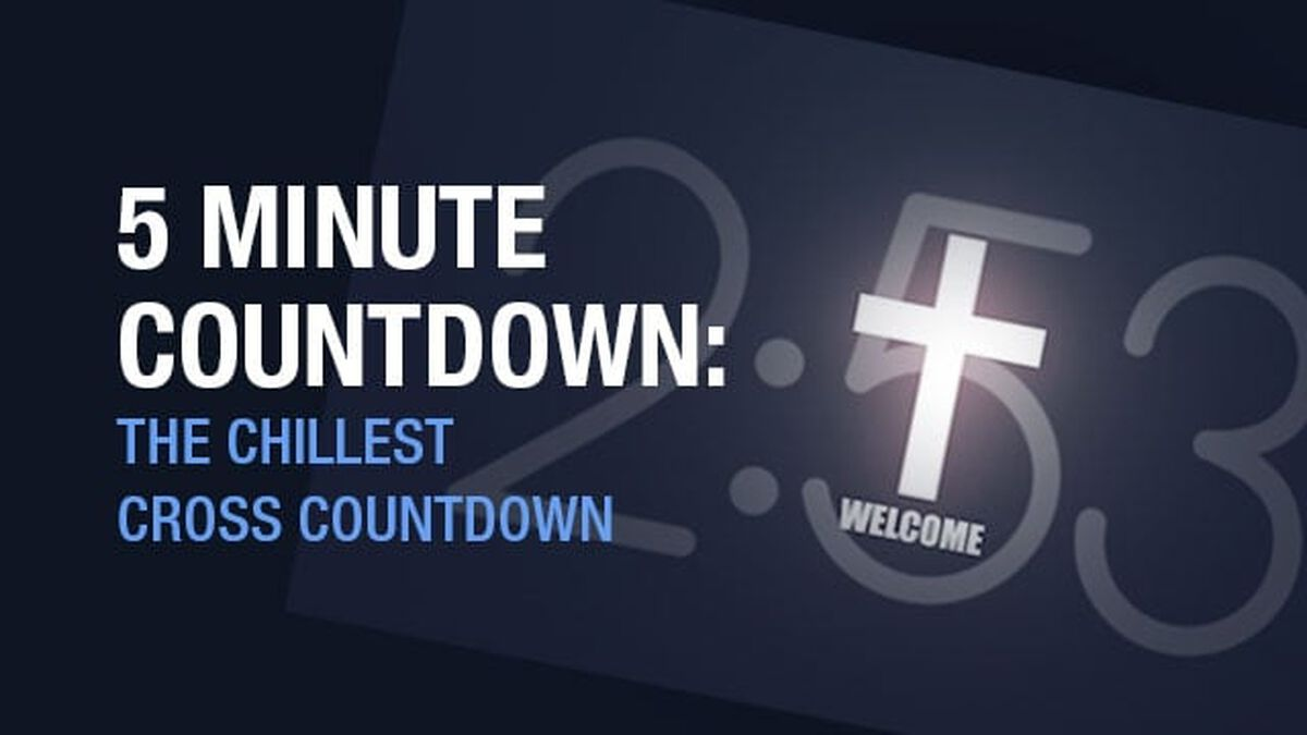 5 Minute Countdown: The Chillest Cross Countdown image number null