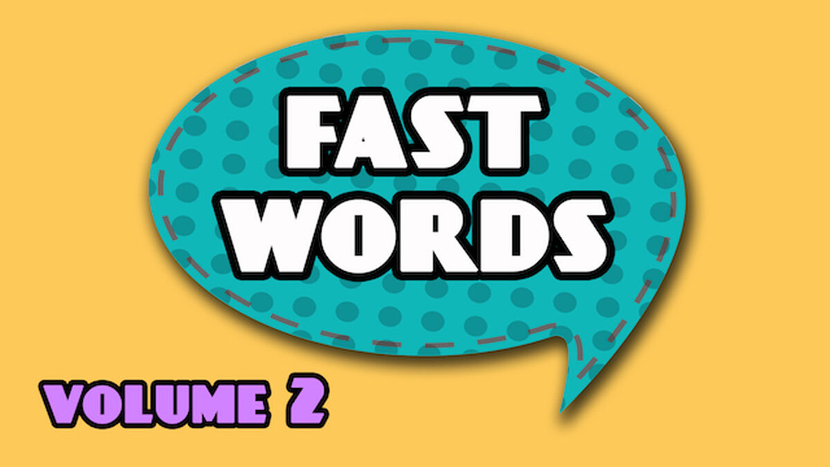 Fast Words Volume 2 image number null