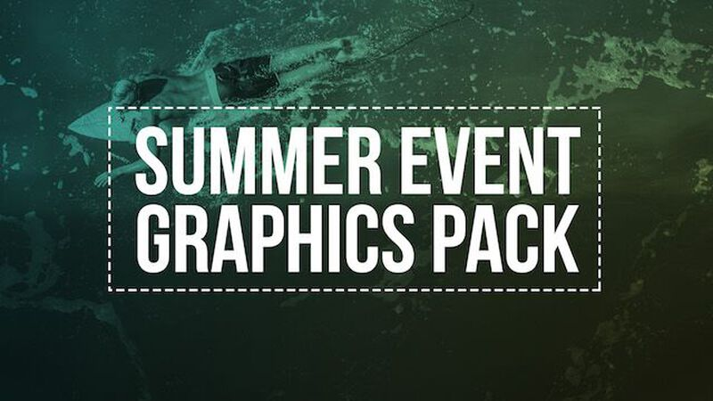 Summer Event Graphics Pack
