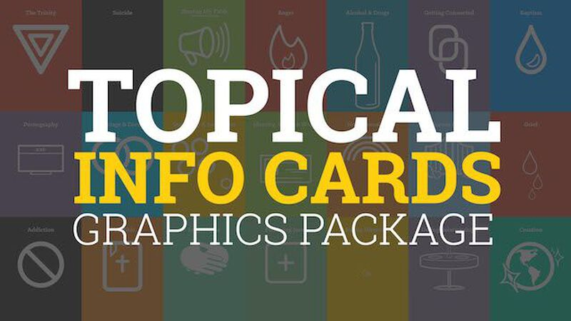 Topical Info Card Graphics