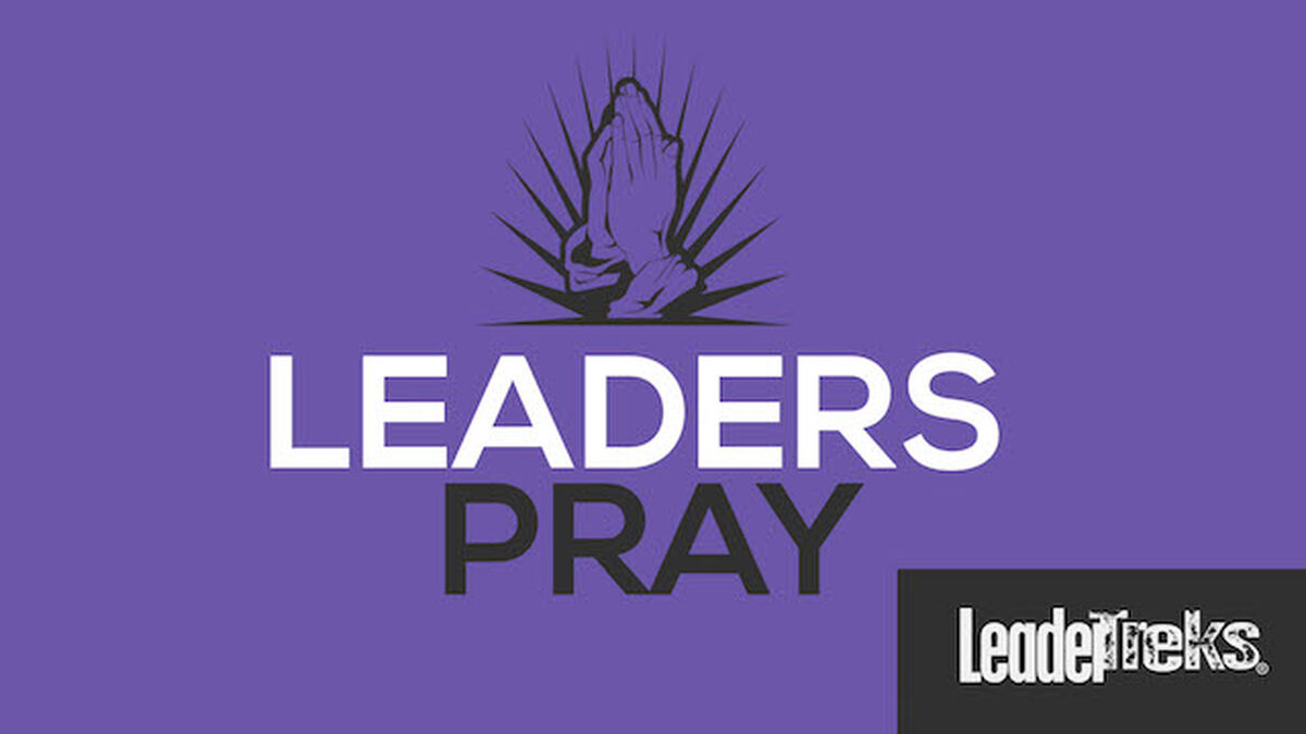 Student Leaders Pray image number null