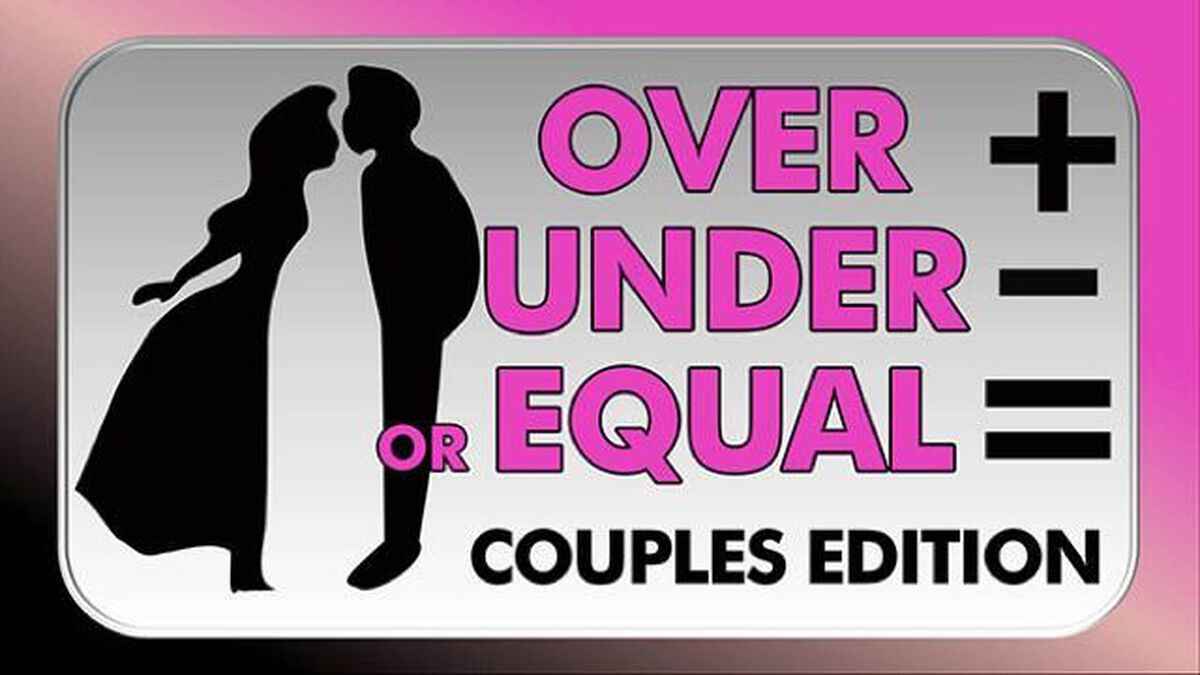 Over Under Equal - Couples Edition image number null