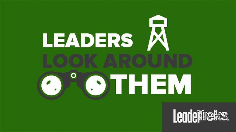 Student Leaders Look Around Them