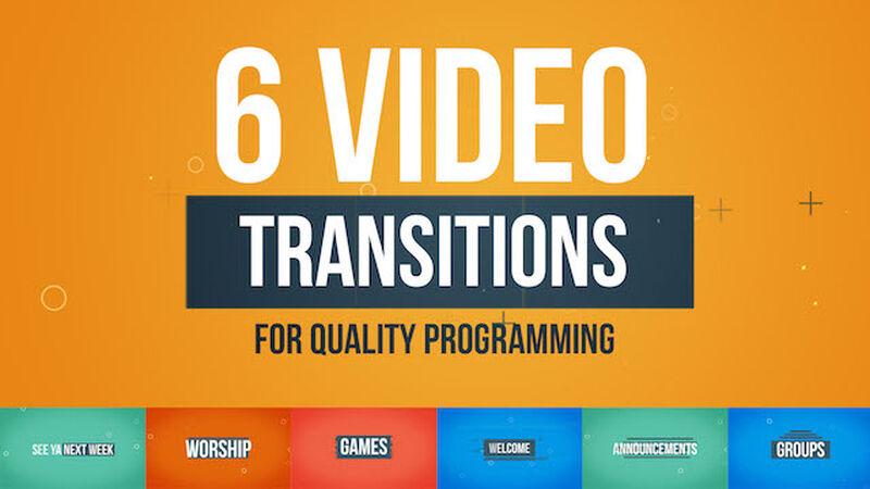 6 Transition Videos