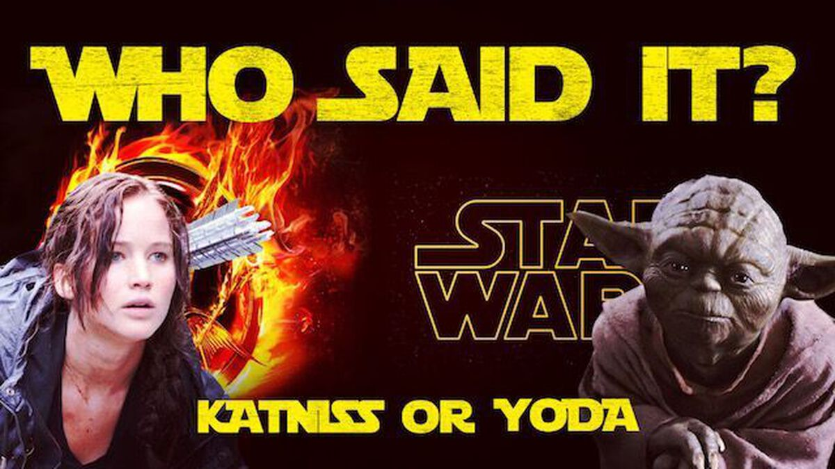 Katniss or Yoda? image number null