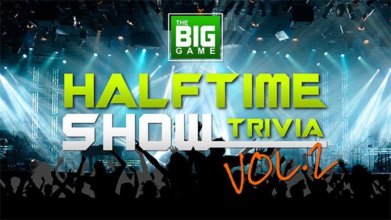 The Big Game Halftime Show Trivia Volume 2 PLUS Countdown Video