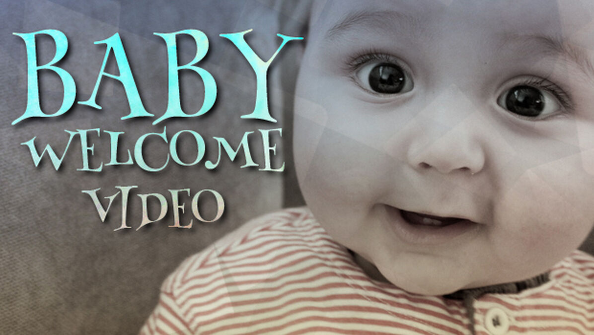 Cute Baby Welcome Video image number null
