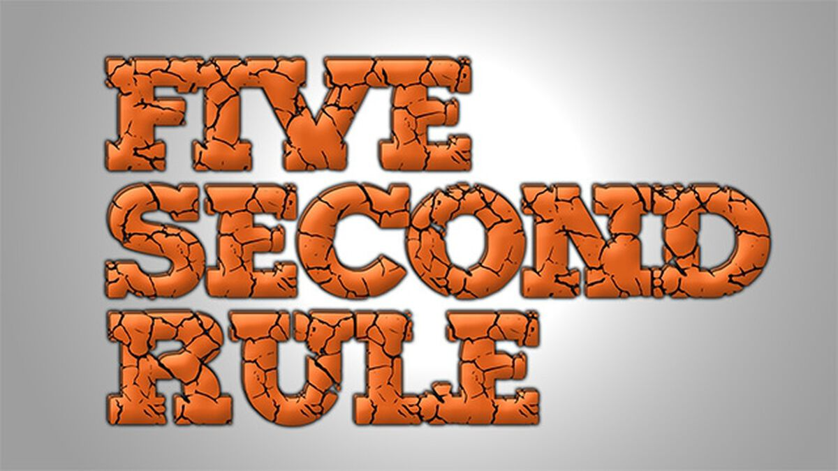 Five Second Rule image number null