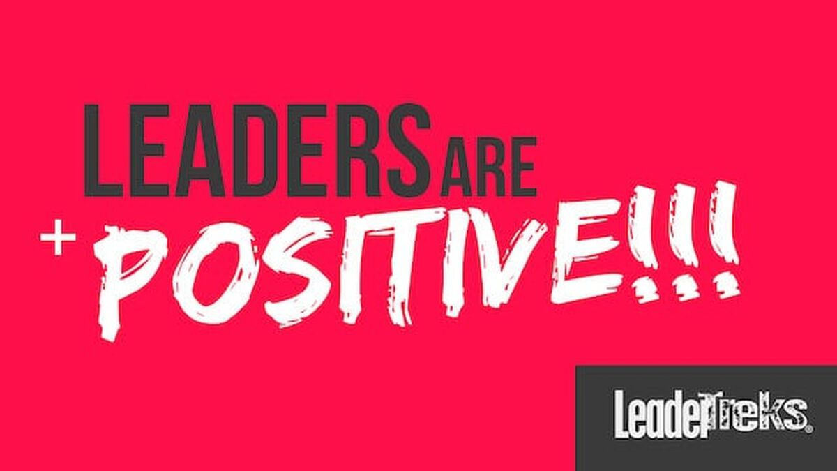 Leaders Are Positive image number null