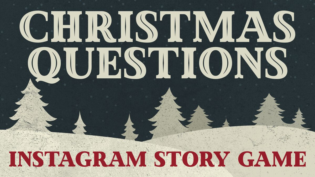 Christmas Questions Instagram Game image number null