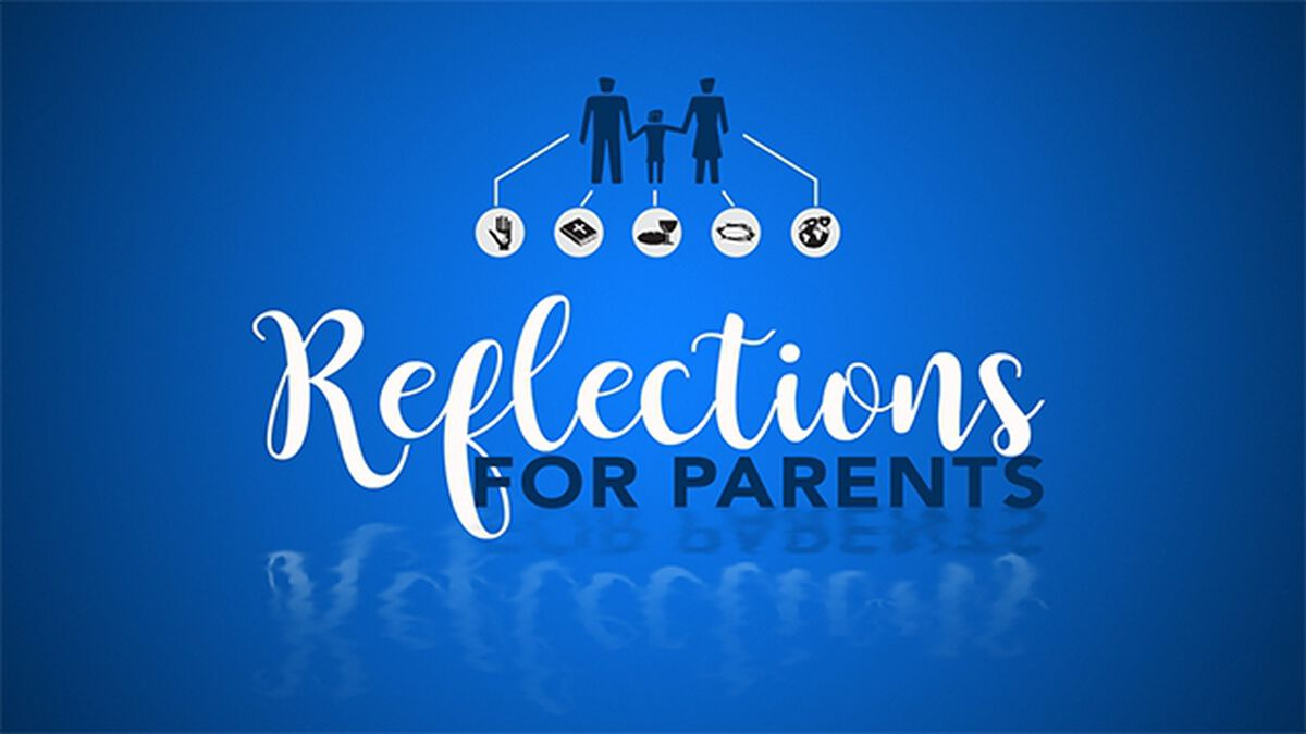 Reflections for Parents: A Prayer Station Resource image number null
