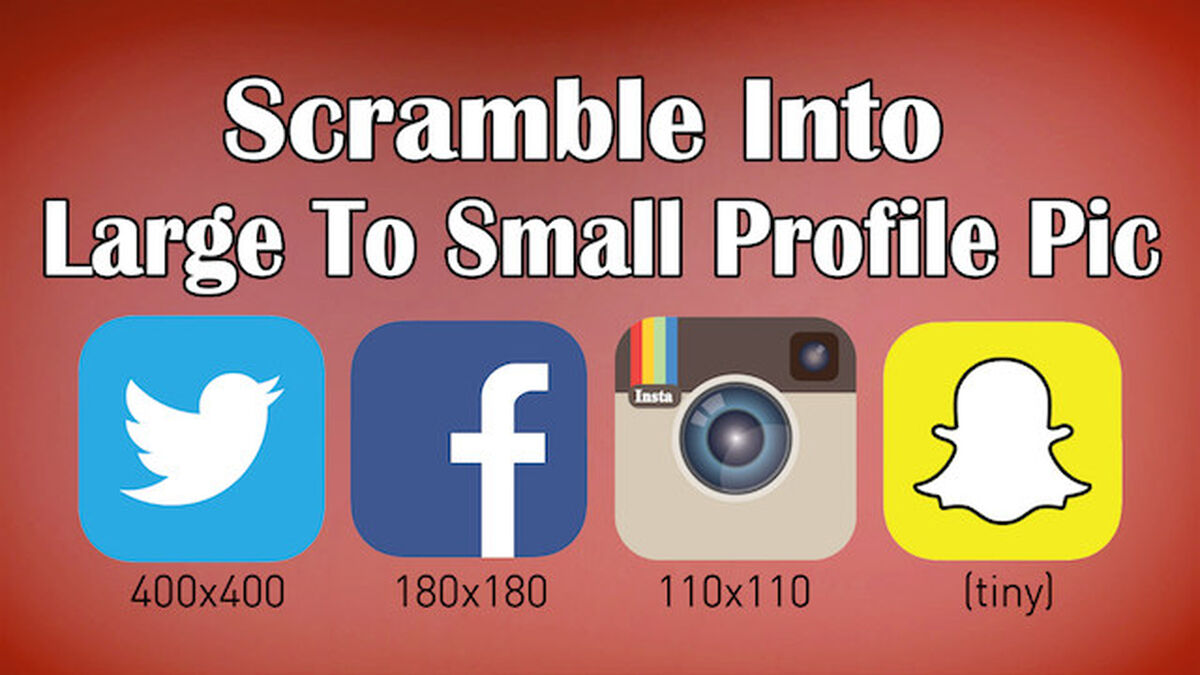 Social Media Scramble image number null
