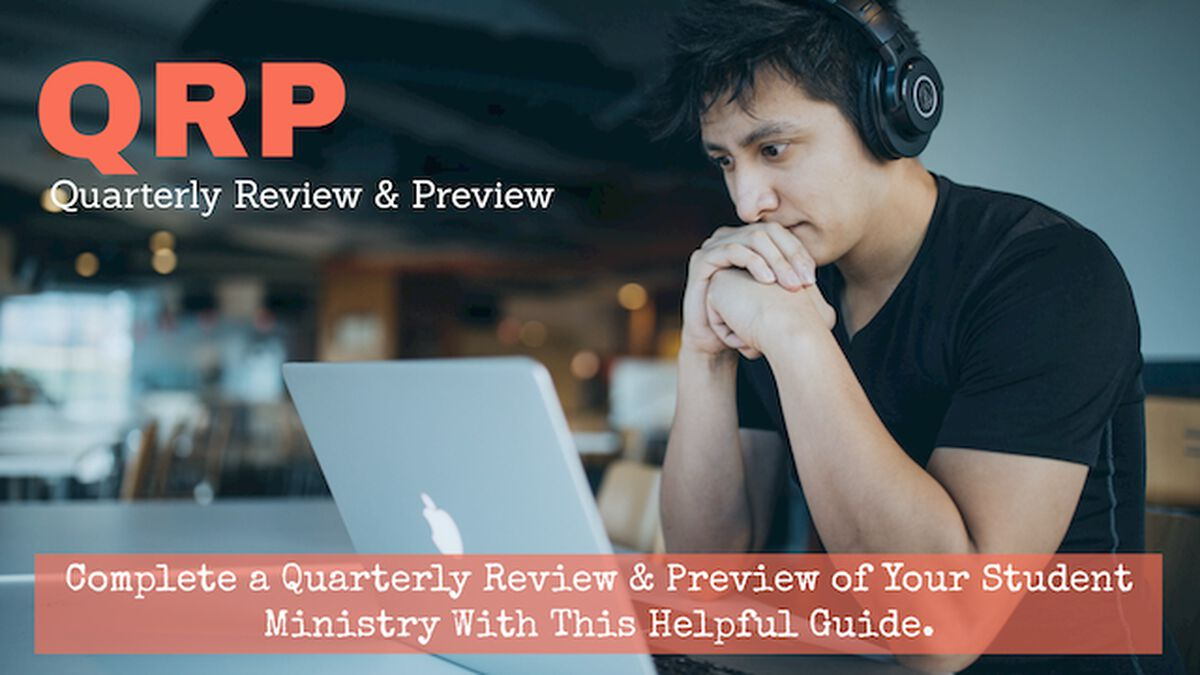 QRP Quarterly Review and Preview image number null