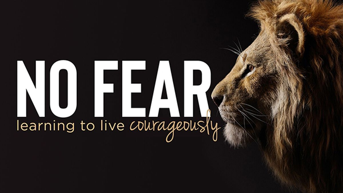 No Fear Learning to Live Courageously image number null
