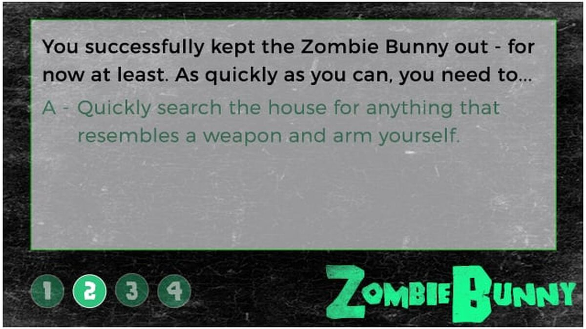 The Zombie Bunny image number null