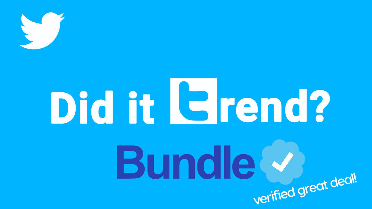 Did It Trend Bundle image number null