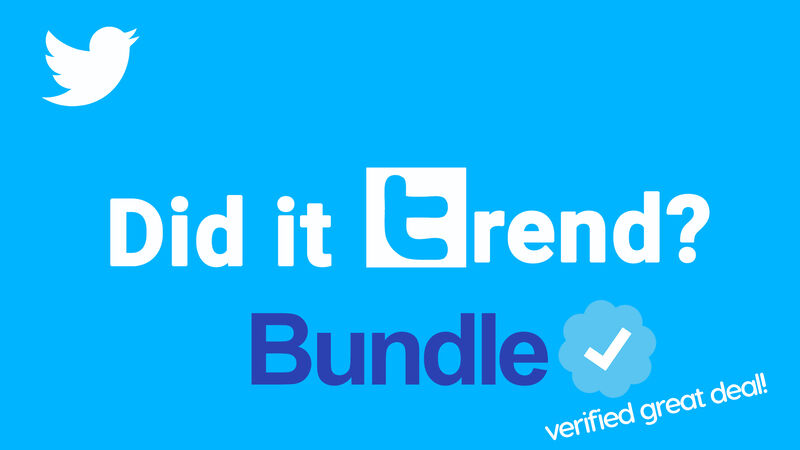 Did It Trend Bundle