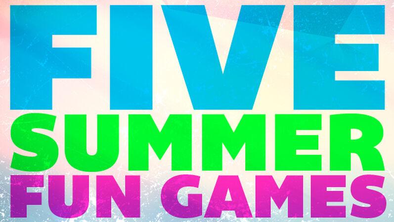 5 Summer Fun Games Pack