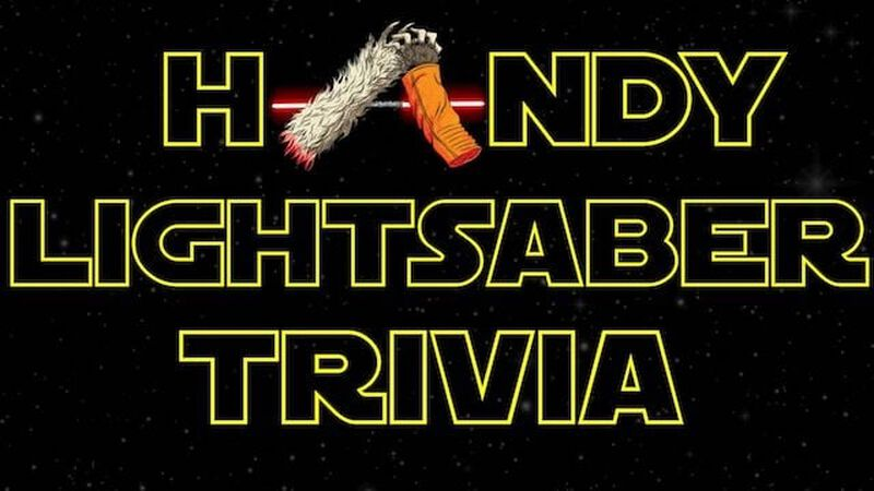 Handy Lightsaber Trivia