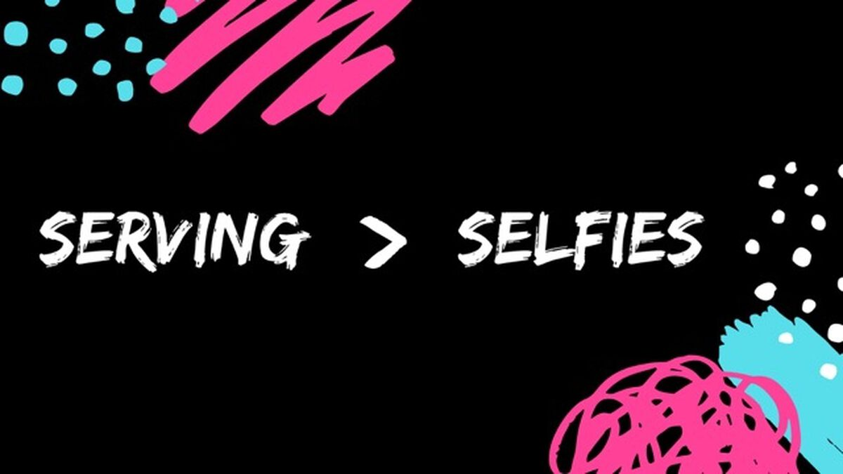 Serving Over Selfies image number null