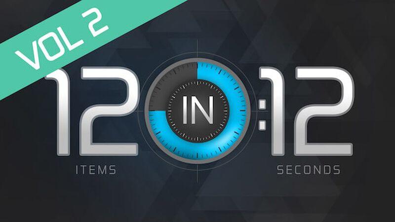12 in 12: Volume 2