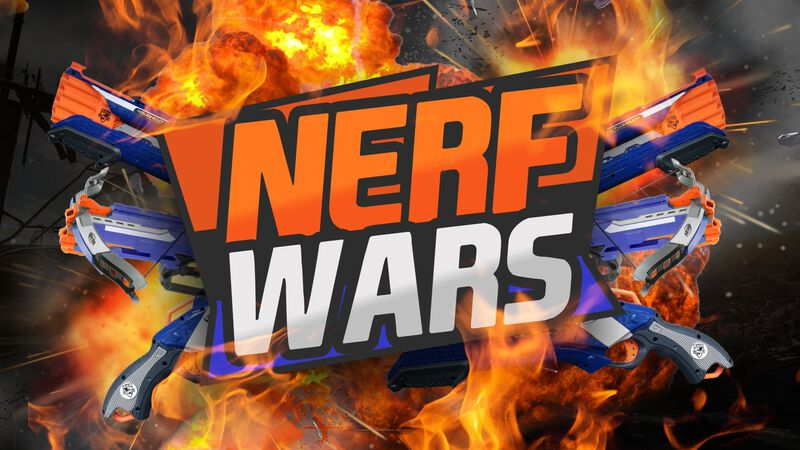 NERF WARS Event Package