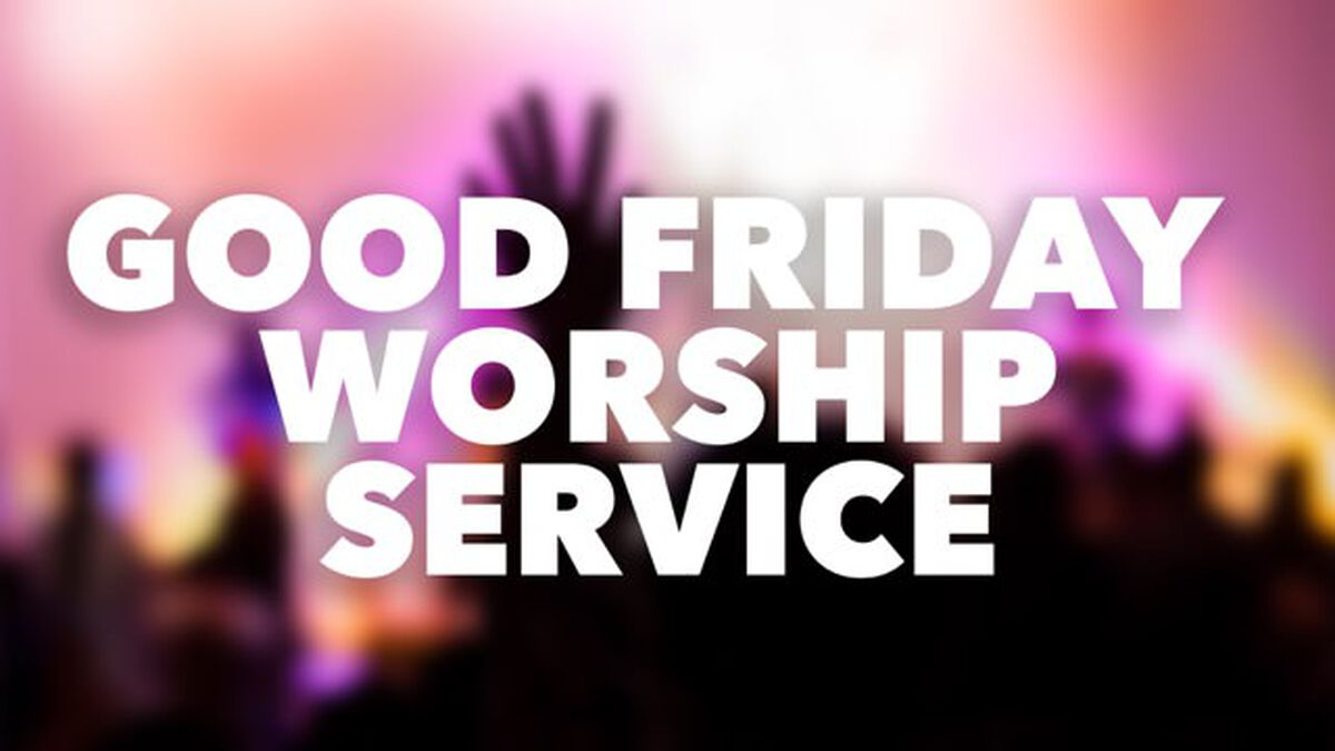 Detailed Good Friday Worship Service  image number null