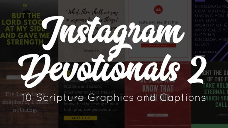 Instagram Devotionals: Volume 2