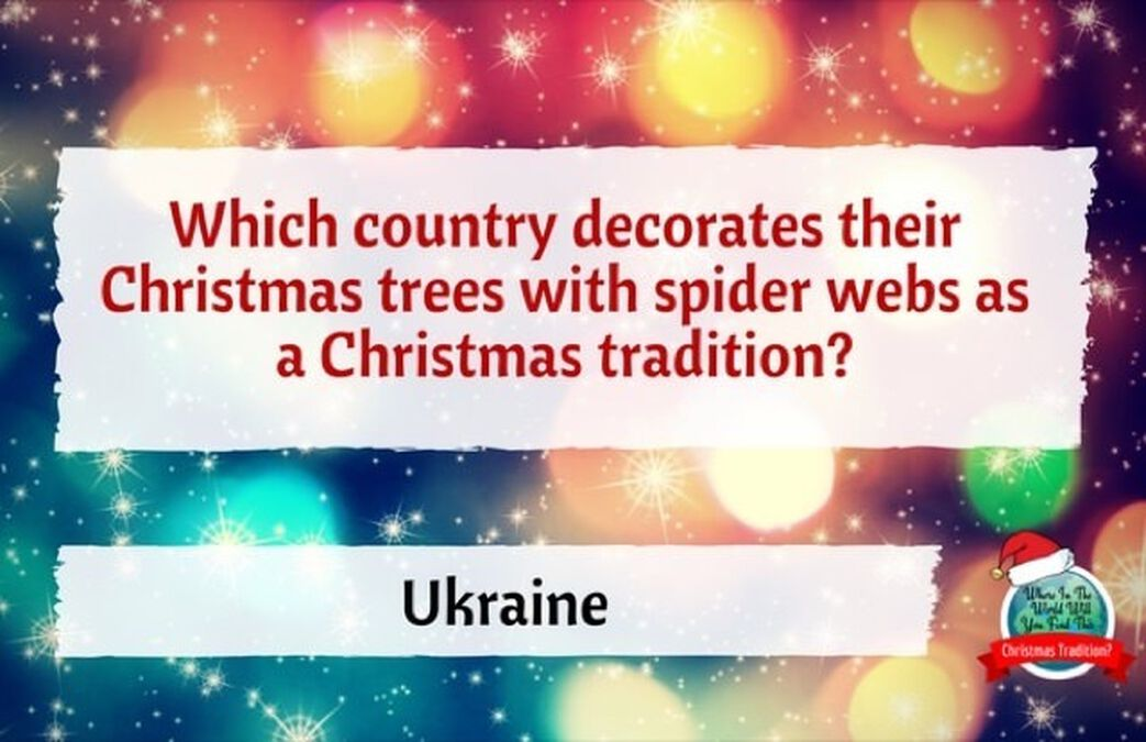 Where in the World: Christmas Traditions image number null