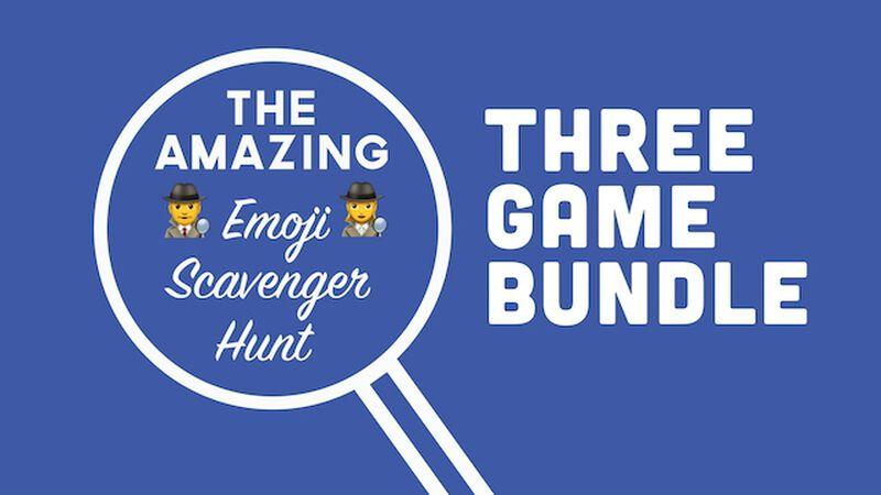 Emoji Scavenger Hunt (Vol I, II & Summer Edition)