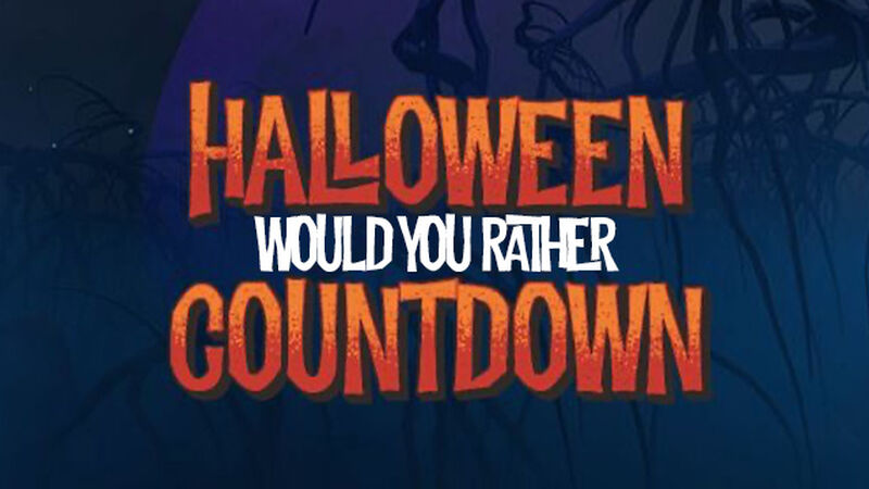 Halloween Would You Rather Countdown Video
