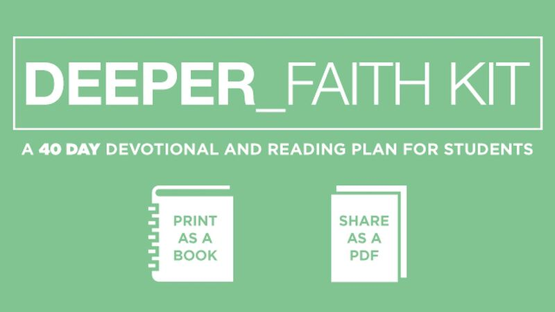 Deeper Faith Devotional