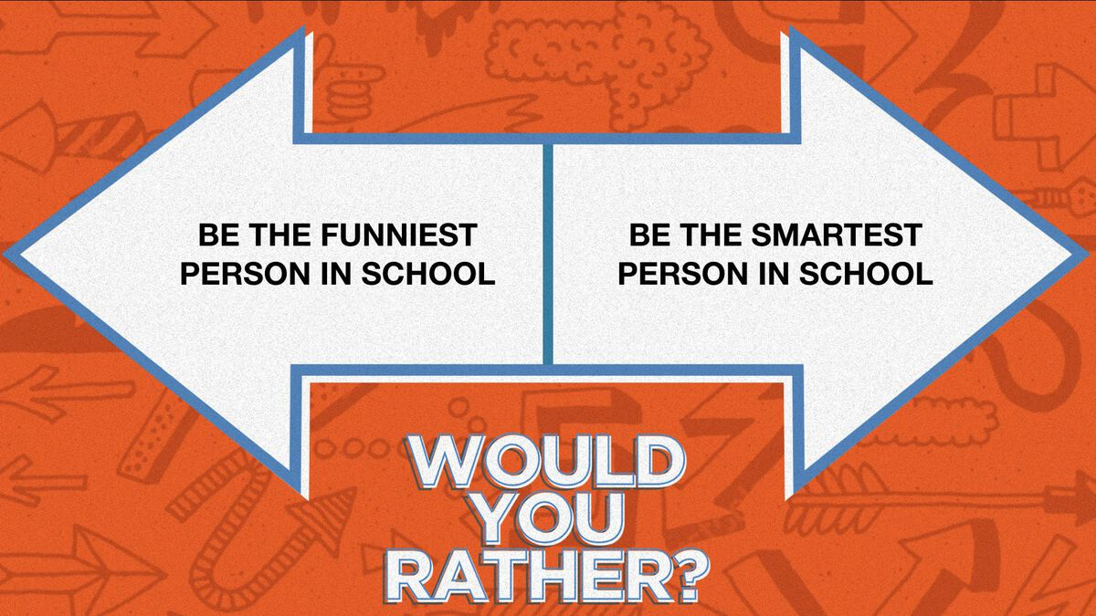 Would You Rather: Back-to-School Edition image number null