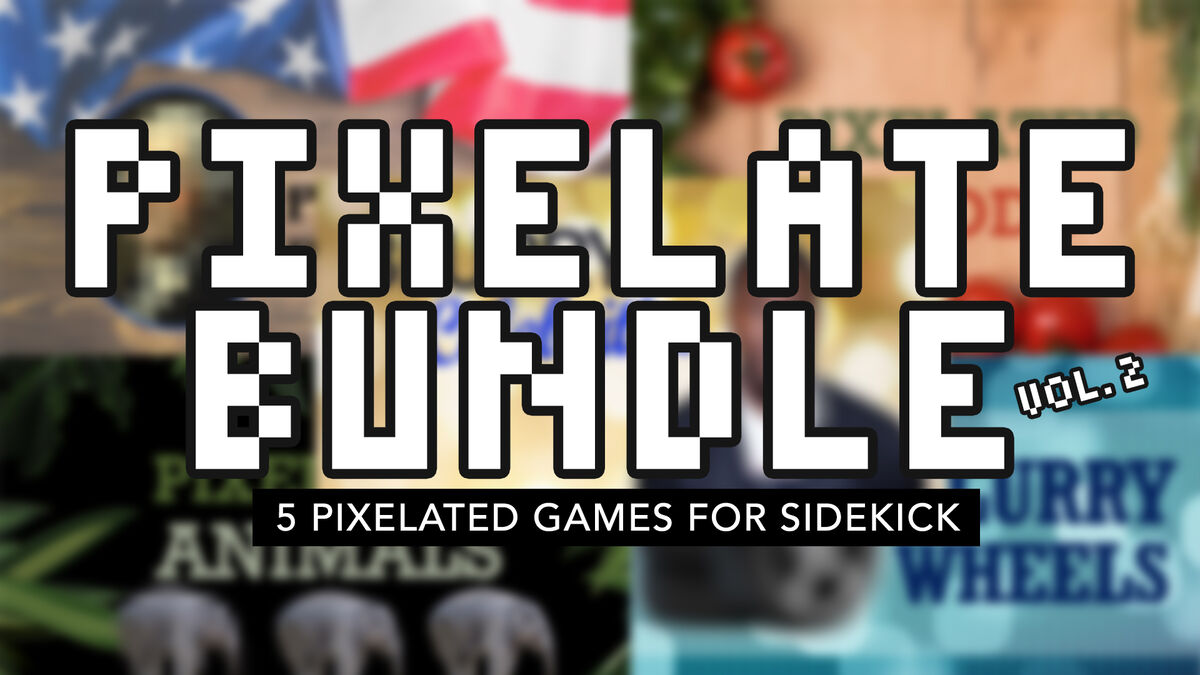 Pixelate Sidekick Bundle Volume 2 image number null