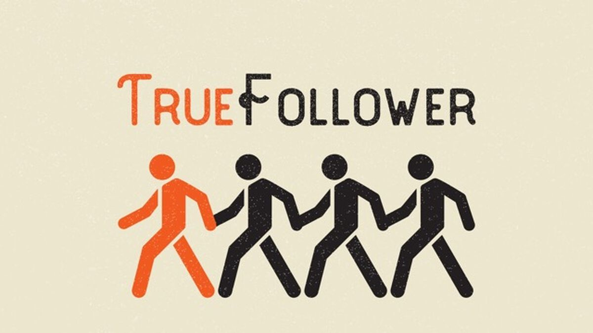 True Follower image number null