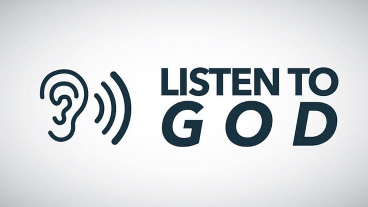 Listen to God image number null
