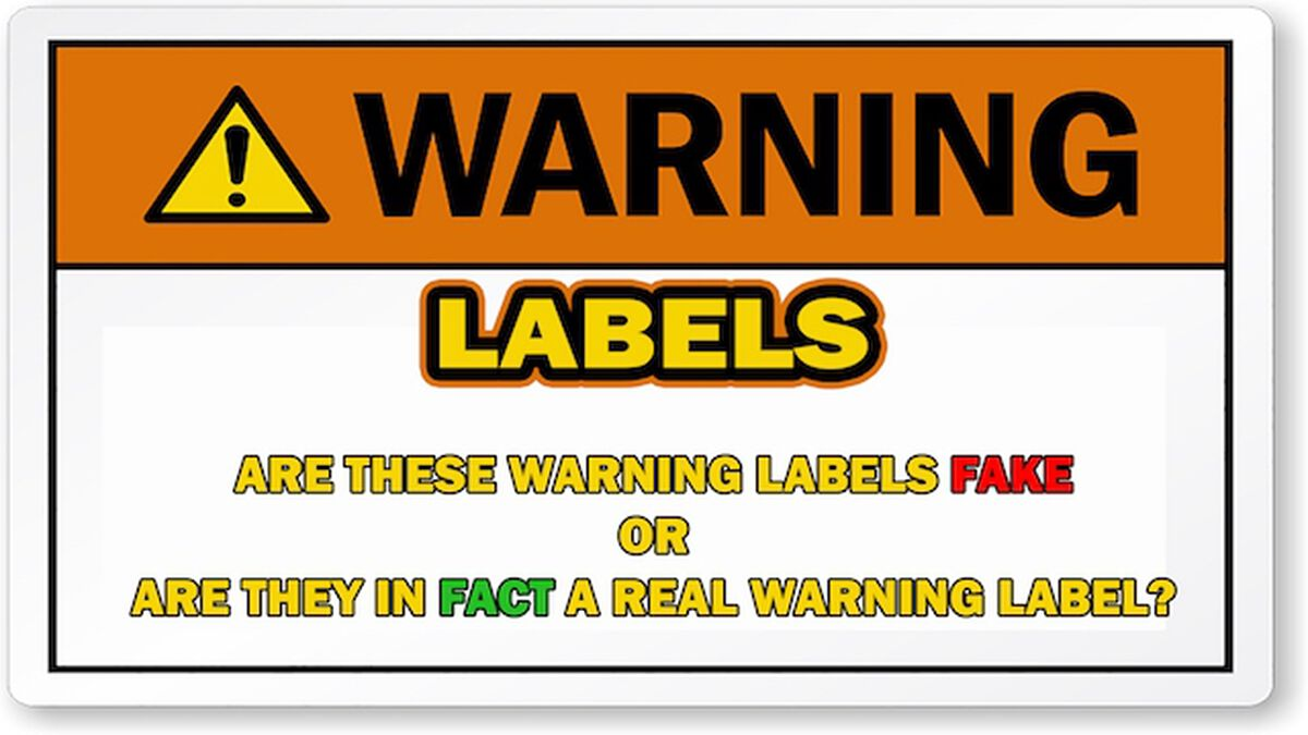 Warning Labels image number null