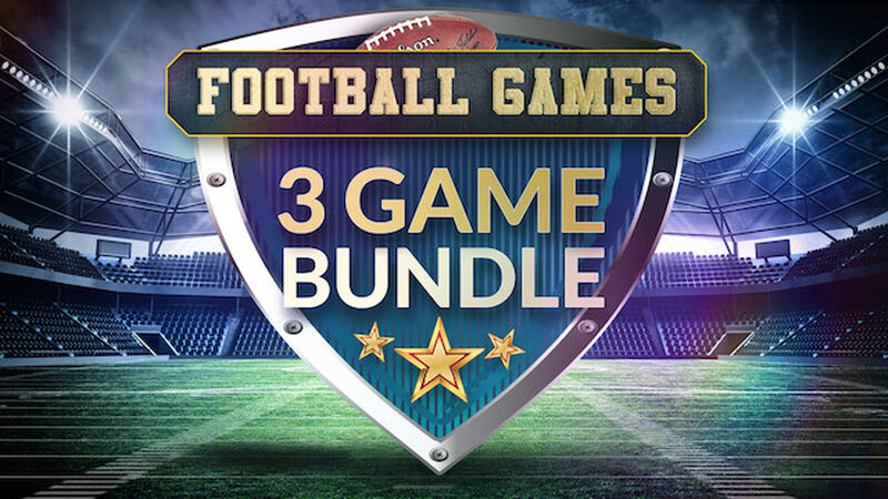 Football Games - 3 Game Bundle