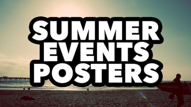 Summer Events Posters