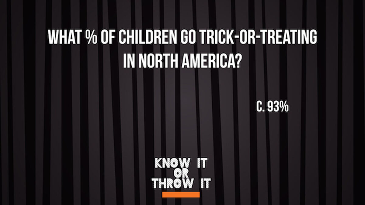 Know It or Throw It - Halloween Edition image number null